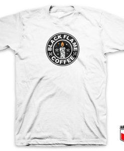 Hocus Pocus Black Flame Coffee T Shirt