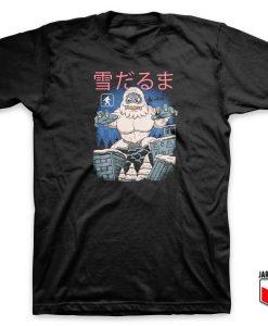 Kaiju Snowman Parody T Shirt