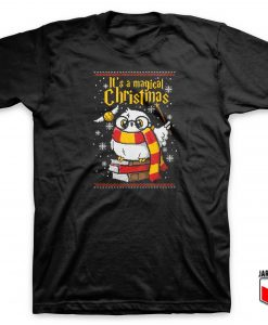 Owl Magic Christmas Ugly T Shirt