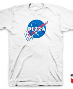Pizza Slash NASA Parody T Shirt