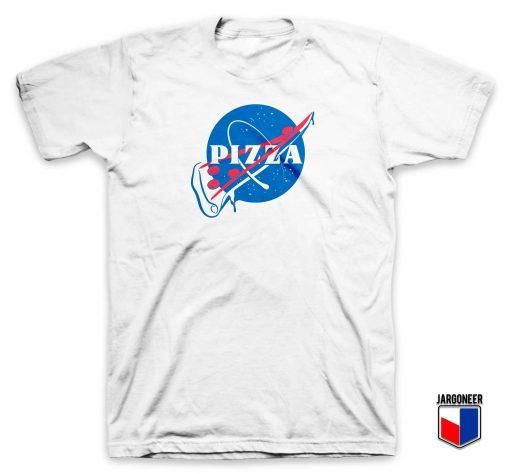 Pizza Slash NASA Parody T Shirt
