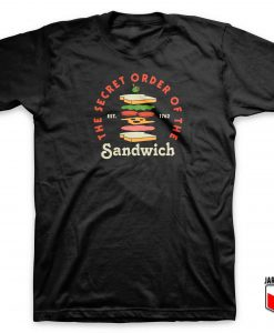 Sandwich Club T Shirt