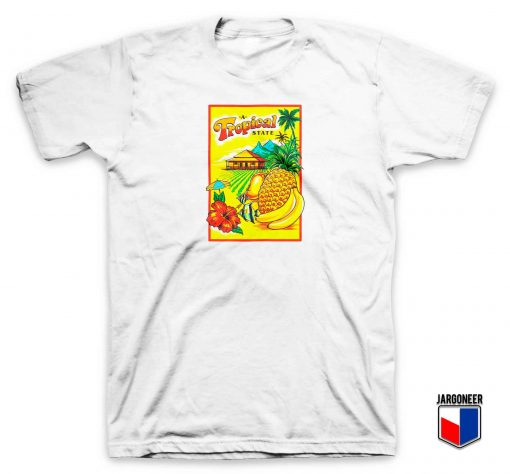 Summer Tropical State T Shirt