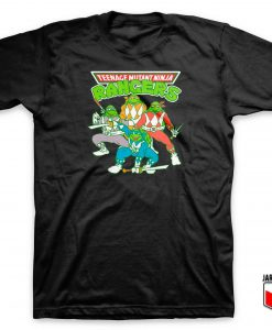 Teenage Mutant Ninja Rangers T Shirt