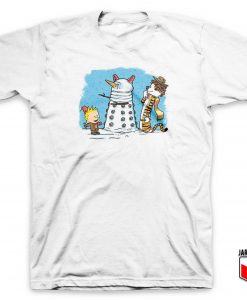 The Snow Dalek T Shirt