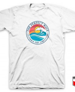 California Perfect Wave Beach T Shirt
