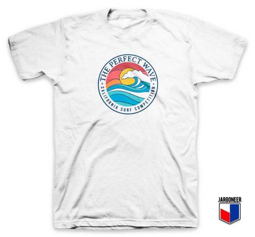 California Perfect Wave Beach T Shirt