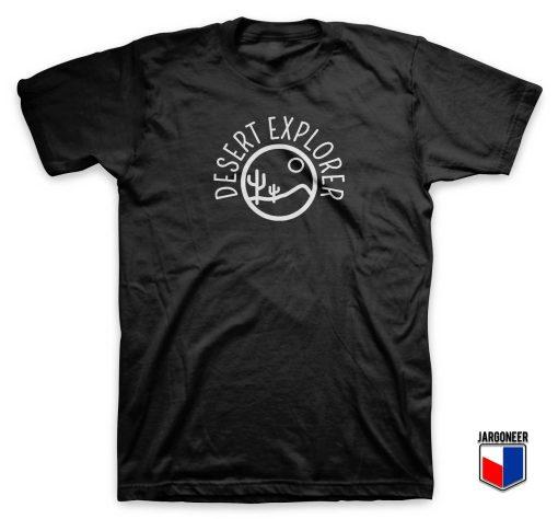 Desert Cactus Explorer T Shirt