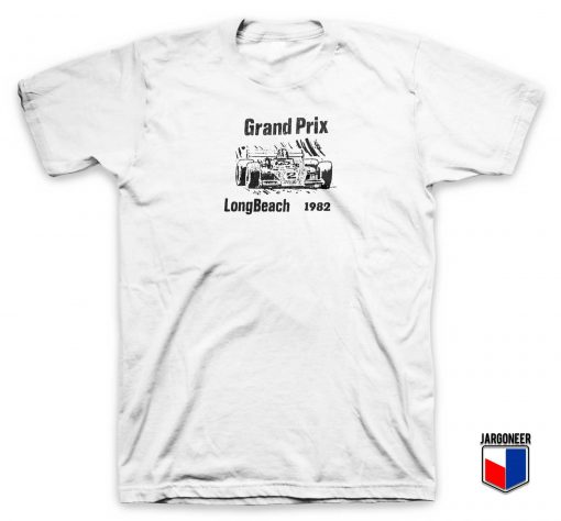 Grand Prix Long Beach 1982 T Shirt