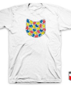 Keith Kitty Haring T Shirt