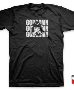 Mia Wallace Pulp Fiction T Shirt