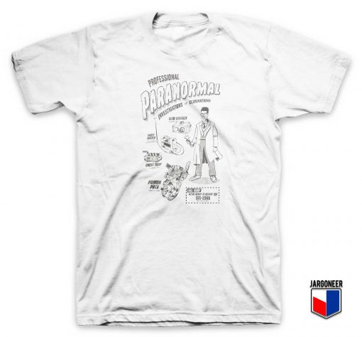 Professional Ghostbuster Paranormal T Shirt