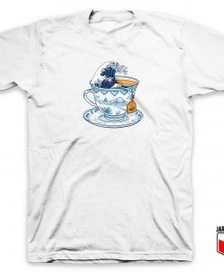 The Great Kanagawa Tea T Shirt