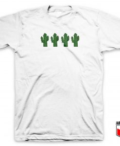 Cactus Four Friends T Shirt