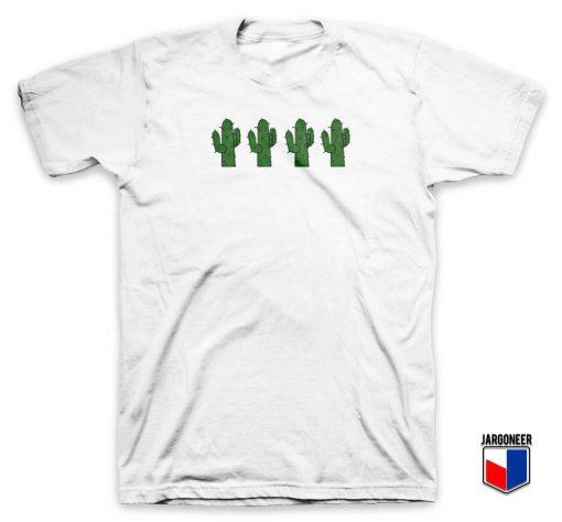 Cactus Four Friends T Shirt