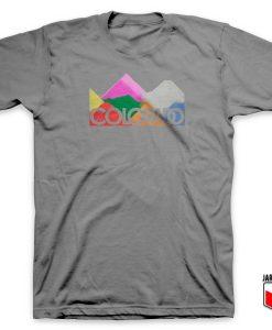 Colorado Colorful Mountain T Shirt