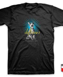 Deftones Adrenaline Screaming Cat T shirt