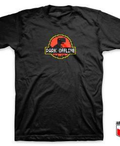 Park Offline Parody T Shirt