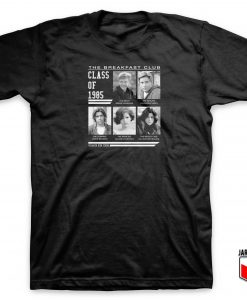 Breakfast Club Class Of 85 T Shirt