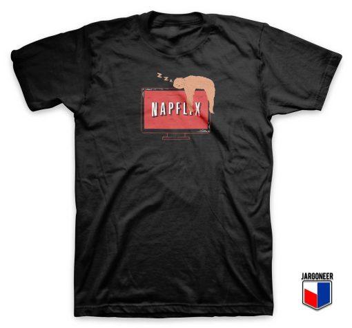 Napflix Sloth Parody T Shirt