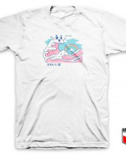 The Great Kawaii Wave T Shirt