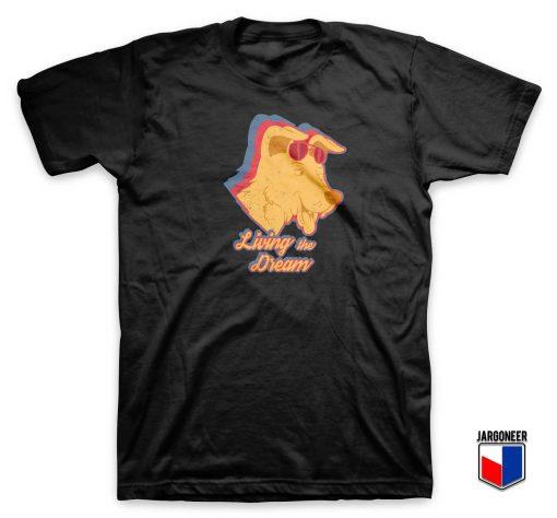 Mr Peanut Butter Living The Dream T Shirt