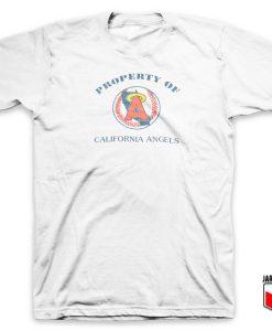 Property Of California Angels T Shirt