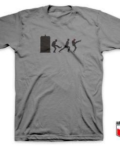 The Tardis Silky Walk T Shirt