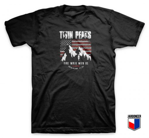 Twin Peaks An American Mystery T Shirt