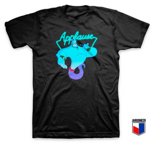 Aladdin Genie Applause T shirt