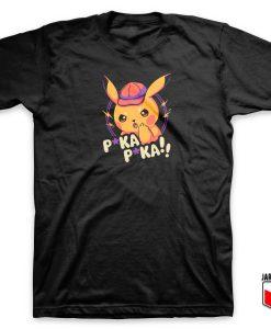 Angry Pika Pikachu T Shirt