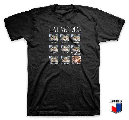 Cat Moods T Shirt