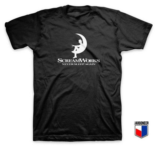 Scream Works Never Sleep Again T Shirt
