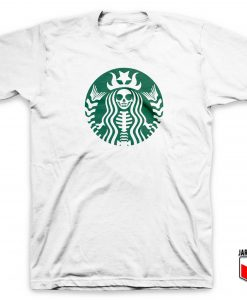 Skeletonbucks Coffee T Shirt