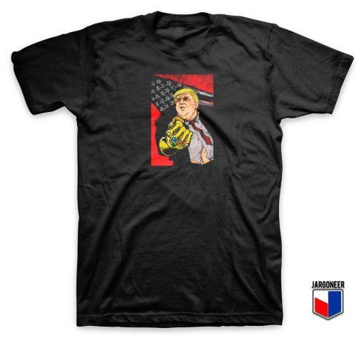 The Infinity Gauntlet Trump T Shirt
