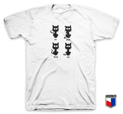 Un Deux Trois Cat T Shirt
