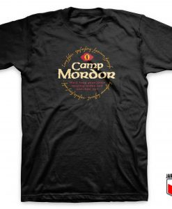 Camp Mordor T Shirt