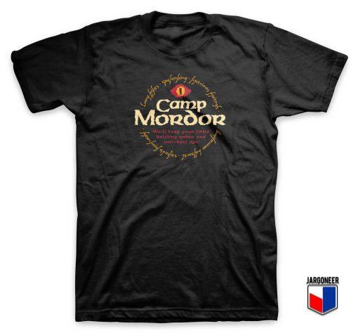 Camp Mordor T Shirt
