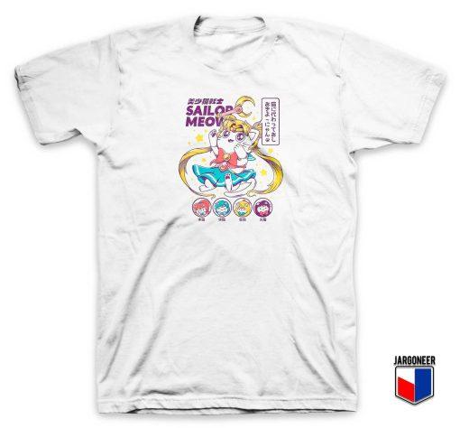 Chibi Sailor Meow Moon T Shirt