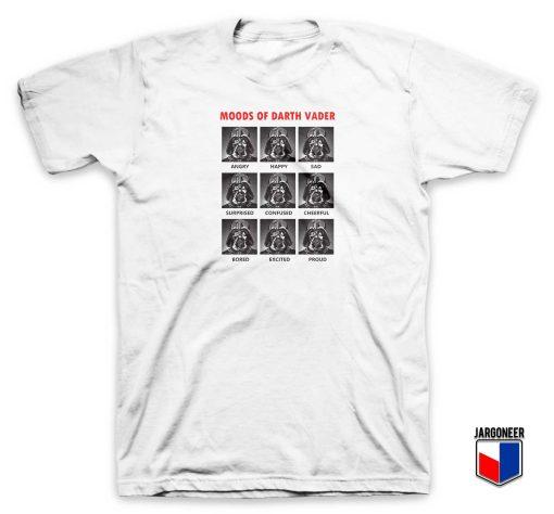 Moods Of Darth Vader T Shirt
