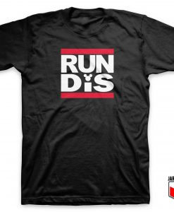 RUN DMC X Disney T Shirt