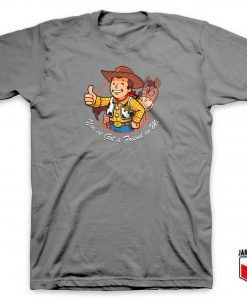 Vault Woody Toy Story T Shirt