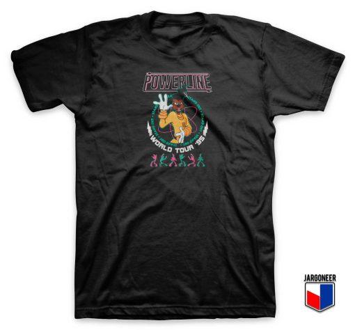 Goofy Powerline World Tour T Shirt