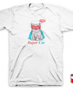 Meow Super Cat T Shirt