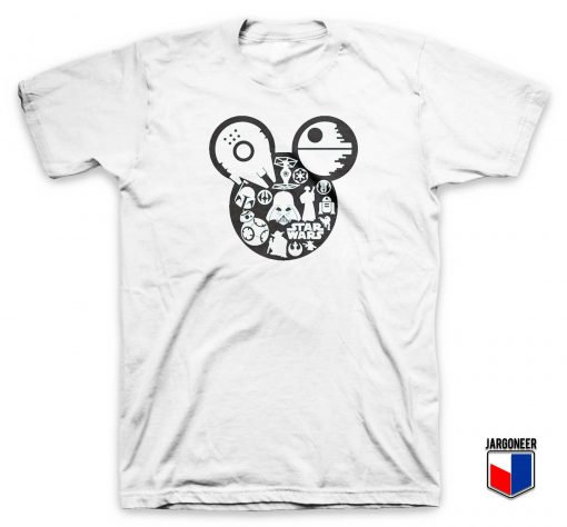 Star Wars Mickey Head T Shirt