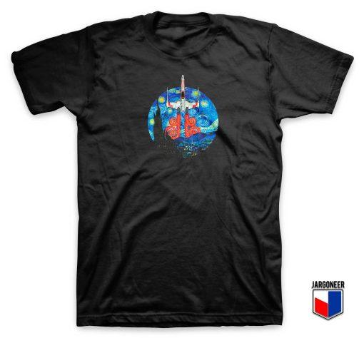 Starry Fighter Wars T Shirt