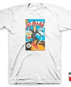 Def Leppard Comic T Shirt