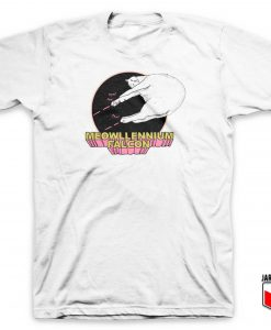 Meowllennium Falcon T Shirt