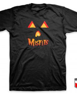Misfits Pumpkin Halloween T Shirt