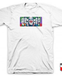 Joker Face Pop Art T Shirt